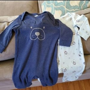 Old Navy Lot of 2 Baby Boy Outfits